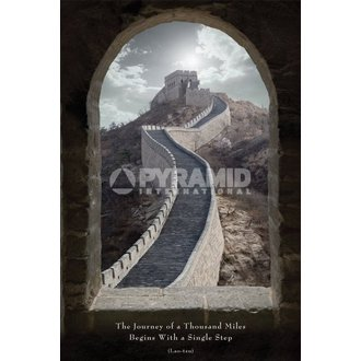 poster Călătorie De A Mie Miles - Pyramid Posters, PYRAMID POSTERS