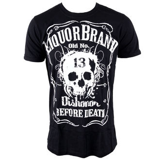 tricou hardcore bărbați - Dishonor Before Death - LIQUOR BRAND, LIQUOR BRAND