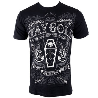 tricou hardcore bărbați - Stay Gold - LIQUOR BRAND, LIQUOR BRAND
