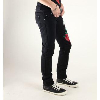 pantaloni femei 3RDAND56th - Stella Trandafir Slab Blugi - JM1033