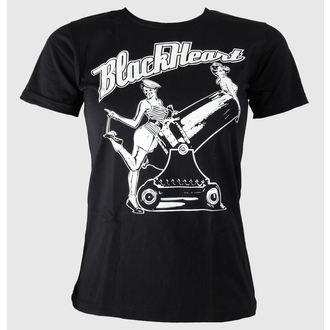 tricou de stradă femei - Pin Up - BLACK HEART, BLACK HEART