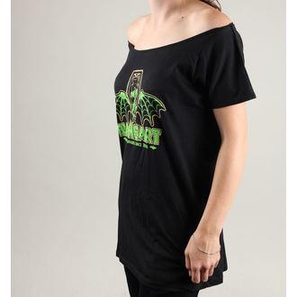 tricou de stradă femei - MARLIN, BLACK HEART