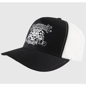 Șapcă BLACK HEART - TRUCKER - Garage, BLACK HEART