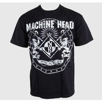 tricou stil metal bărbați Machine Head - Classic Crest - ROCK OFF, ROCK OFF, Machine Head