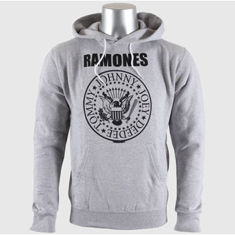 hanorac cu glugă bărbați Ramones - Seal Logo Gry - BRAVADO EU, BRAVADO EU, Ramones