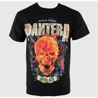 tricou stil metal bărbați Pantera - Outlaw Skull - BRAVADO, BRAVADO, Pantera