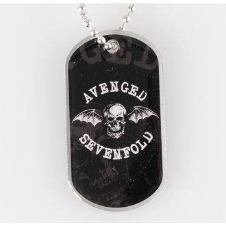 lanț cu plăcuță Avenged Sevenfold - Moarte Băţ - RAZAMATAZ, RAZAMATAZ, Avenged Sevenfold