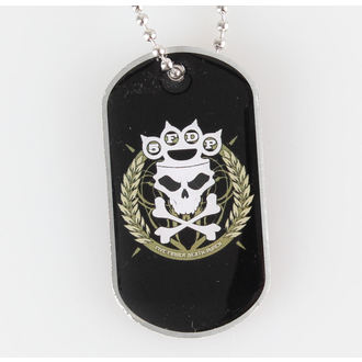 Guler 'etichetă pentru câine' Five Finger Death Punch - Knuckle Crown - RAZAMATAZ, RAZAMATAZ, Five Finger Death Punch