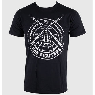 tricou stil metal bărbați Foo Fighters - Black Strike - LIVE NATION, LIVE NATION, Foo Fighters