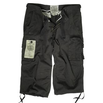 pantaloni scurți bărbați 3/4 MIL-TEC - Aer Luptă - Pre-spalare Negru, MIL-TEC