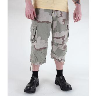 pantaloni scurți 3/4 bărbați MIL-TEC - Aer Luptă - Pre-spalare Zece, MIL-TEC