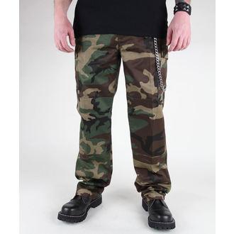 pantaloni bărbați MIL-TEC - S.U.A. Feldhose - Woodland, MIL-TEC