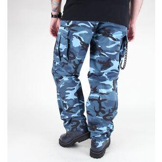 pantaloni bărbați MIL-TEC - S.U.A. pădurar Furtun - BDU Cer albastru, MIL-TEC