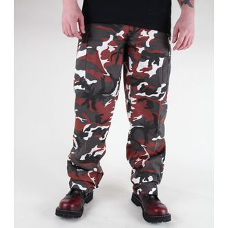 pantaloni bărbați MIL-TEC - S.U.A. pădurar Furtun - BDU roșu camo, MIL-TEC