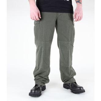 pantaloni bărbați MIL-TEC - S.U.A. Feldhose - CO Pre-spalare oliv, MIL-TEC