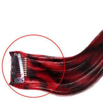 clamă (fir de păr) la par MANIC PANICĂ - Sintetic - Electric Lavă, MANIC PANIC