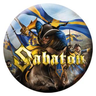 insignă Sabaton - Carolus Rex - Limitat, NUCLEAR BLAST, Sabaton