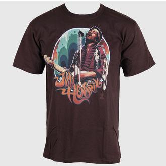 tricou stil metal bărbați Jimi Hendrix - Hendrix Groove - LIQUID BLUE, LIQUID BLUE, Jimi Hendrix