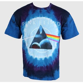 tricou stil metal bărbați Pink Floyd - Dark Side Galaxy - LIQUID BLUE, LIQUID BLUE, Pink Floyd