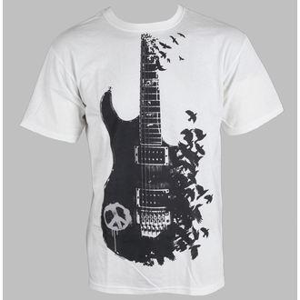 tricou bărbați - Crow Guitar - LIQUID BLUE, LIQUID BLUE