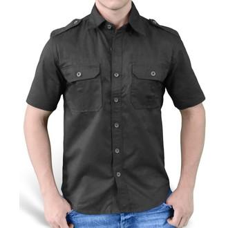 cămaşă SURPLUS - Simplu Vară - Negru, SURPLUS