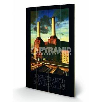 Imagine pe lemn  Pink Floyd - Animals - Pyramid Posters, PYRAMID POSTERS, Pink Floyd