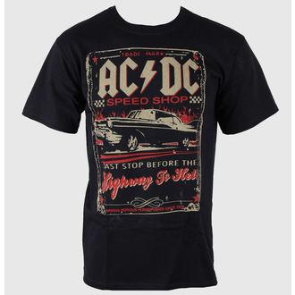 tricou stil metal bărbați AC-DC - Speedshop - LIQUID BLUE, LIQUID BLUE, AC-DC
