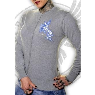 pulover femei TOXICO - Nu Spune Nu - Gri, TOXICO