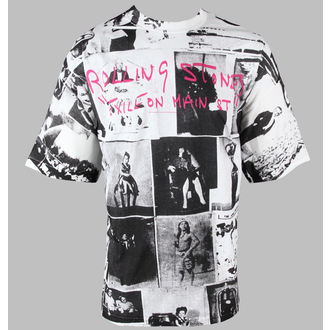 tricou stil metal bărbați Rolling Stones - Exile Allover - BRAVADO