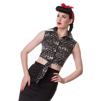 cămaşă (vestă) femei IAD BUNNY - Bandană - Negru, HELL BUNNY