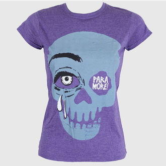 tricou stil metal femei Paramore - Cry A Little Purple - LIVE NATION, LIVE NATION, Paramore