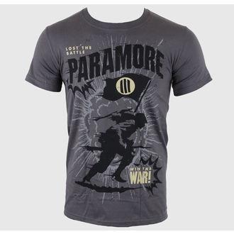 tricou stil metal bărbați Paramore - Minifield Charcoal - LIVE NATION, LIVE NATION, Paramore
