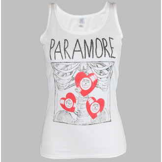 top femei Paramore - X rază alb - LIVE NATION, LIVE NATION, Paramore