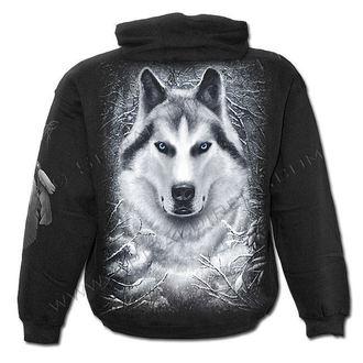 hanorac cu glugă copii - White Wolf - SPIRAL, SPIRAL