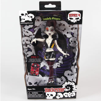 figurină got Argint Arc Modă Păpuşă Lunabella - Violet