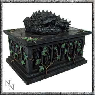 Cutie (decorațiune) Dragon Tarot Card, NNM