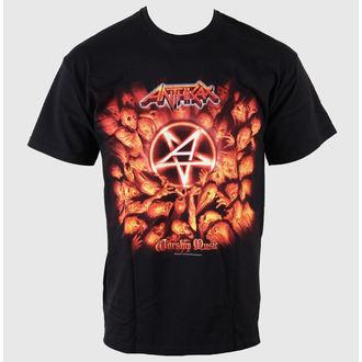 tricou stil metal bărbați Anthrax - Worship Music - ROCK OFF, ROCK OFF, Anthrax