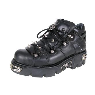 cizme piele - Prick Shoes (110-S1) Black - NEW ROCK