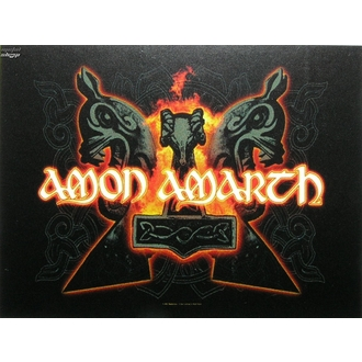 steag Amon Amarth - ciocane, HEART ROCK, Amon Amarth