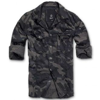 cămaşă bărbați Brandit - bărbaţi Cămaşă Subţire Darkcamo, BRANDIT