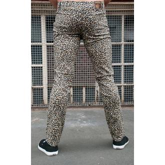 pantaloni bărbați 3RDAND56th - Leopard Slab Blugi - Natural Leu - JM1150