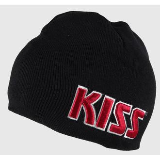 beanie Pup - roșu pe alb Logo - ROCK OFF, ROCK OFF, Kiss