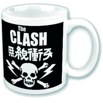 Cană  The Clash - Skull & Crossbones - ROCK OFF, ROCK OFF, Clash