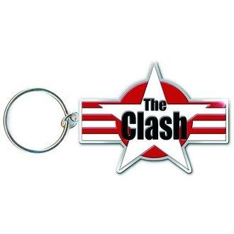 Breloc de chei (pandantiv) The Clash - Star & Stripes- ROCK OFF - CLKEY01