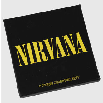 Stative bere Nirvana - coaster set - ROCK OFF, ROCK OFF, Nirvana