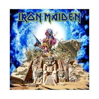 Felicitare Iron Maiden - Somewhere back in Time - ROCK OFF, ROCK OFF, Iron Maiden