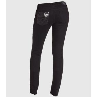 pantaloni femei METAL Mulisha - Sălbatic Lucru, METAL MULISHA