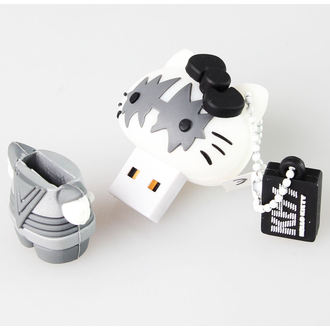 bliț disc USB 8GB (pandantiv) PUP - BUNA KITTY - The Cosmonaut, HELLO KITTY, Kiss