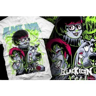 tricou hardcore bărbați - Scooby - BLACK ICON, BLACK ICON