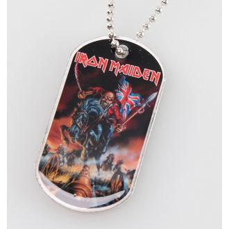 lanț cu plăcuță Iron Maiden - De fată Anglia - RAZAMATAZ, RAZAMATAZ, Iron Maiden